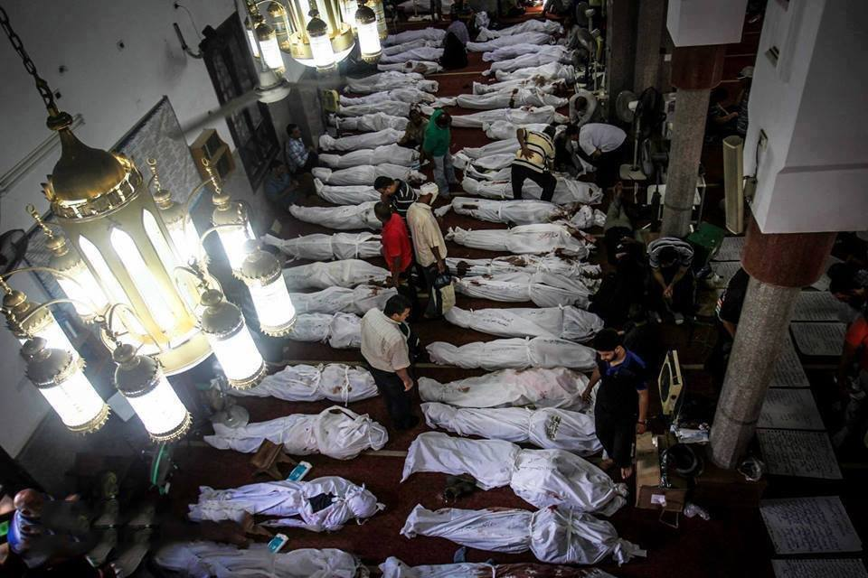 Massacre de Rabia au Caire