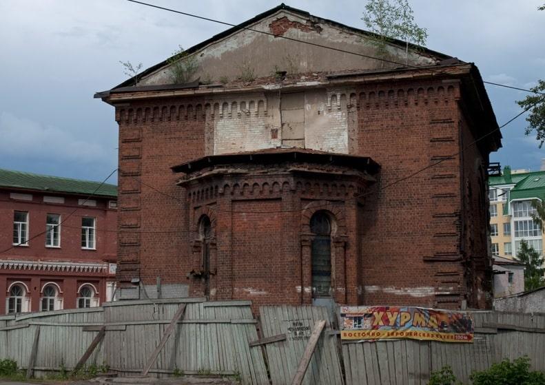 Ancienne mosquée de Sibérie devient une distillerie