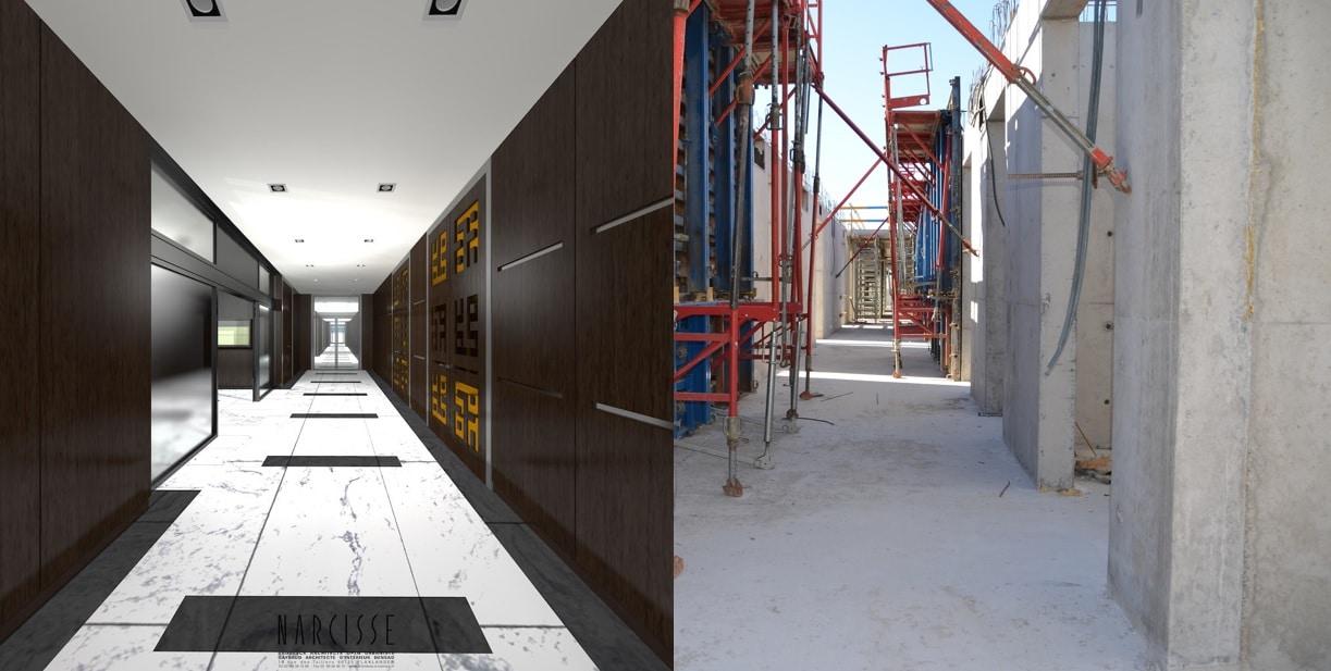Couloir Centre Annour lieu d'exposition et d'échanges