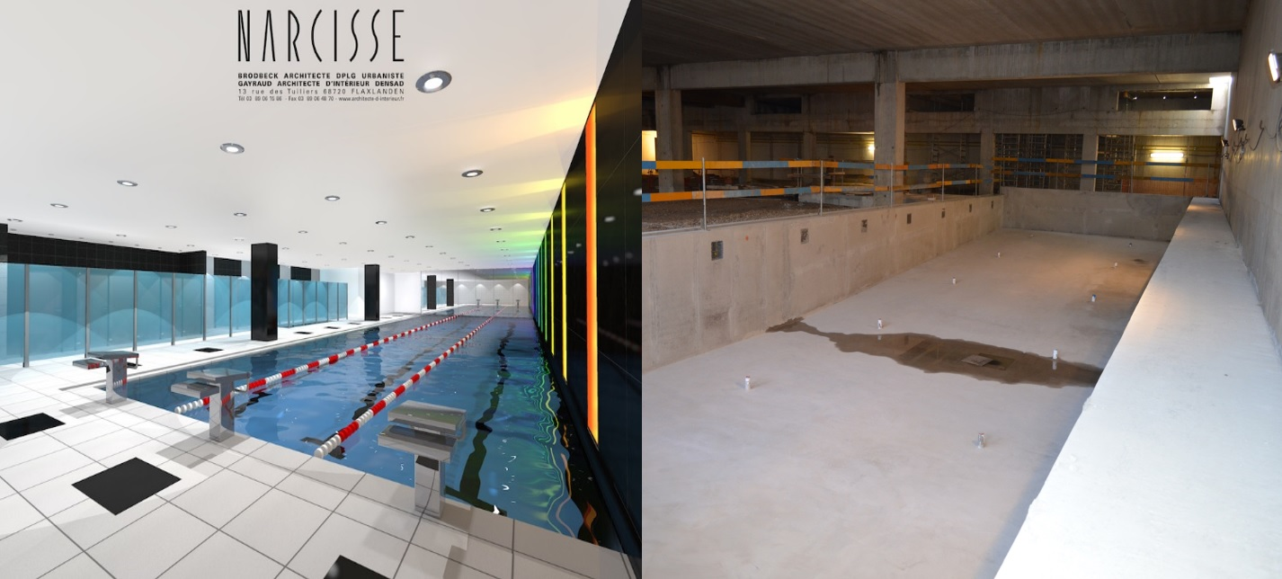 Le centre annour de mulhouse g n rera 90 emplois for Piscine olympique mulhouse