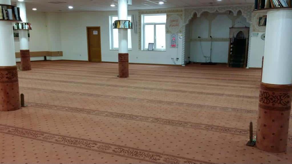 Tapis mosquée Al Amal de Bruxelles