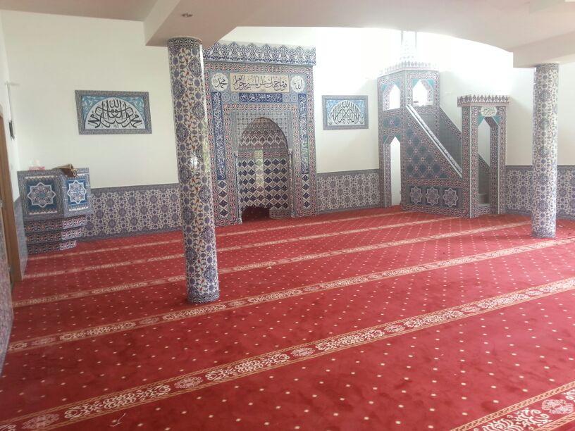 Tapis mosquée Selimiye de Colmar