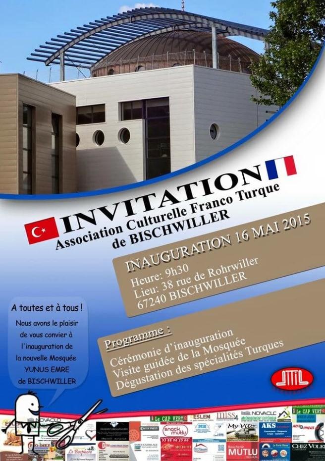 Inauguration de la mosquée de Bischwiller (2)