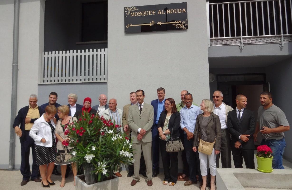 Inauguration de la mosquée d'Illzach Alsace 4