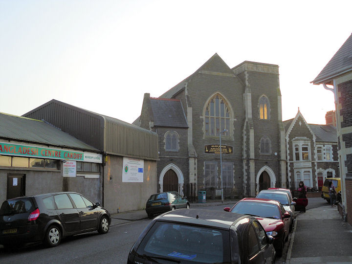 Jalalia mosque Cardiff