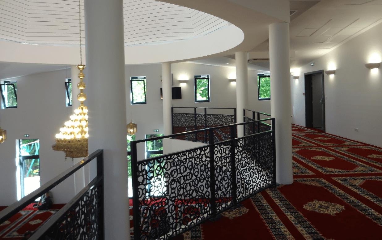 Mezzanine mosquée de la Robertsau