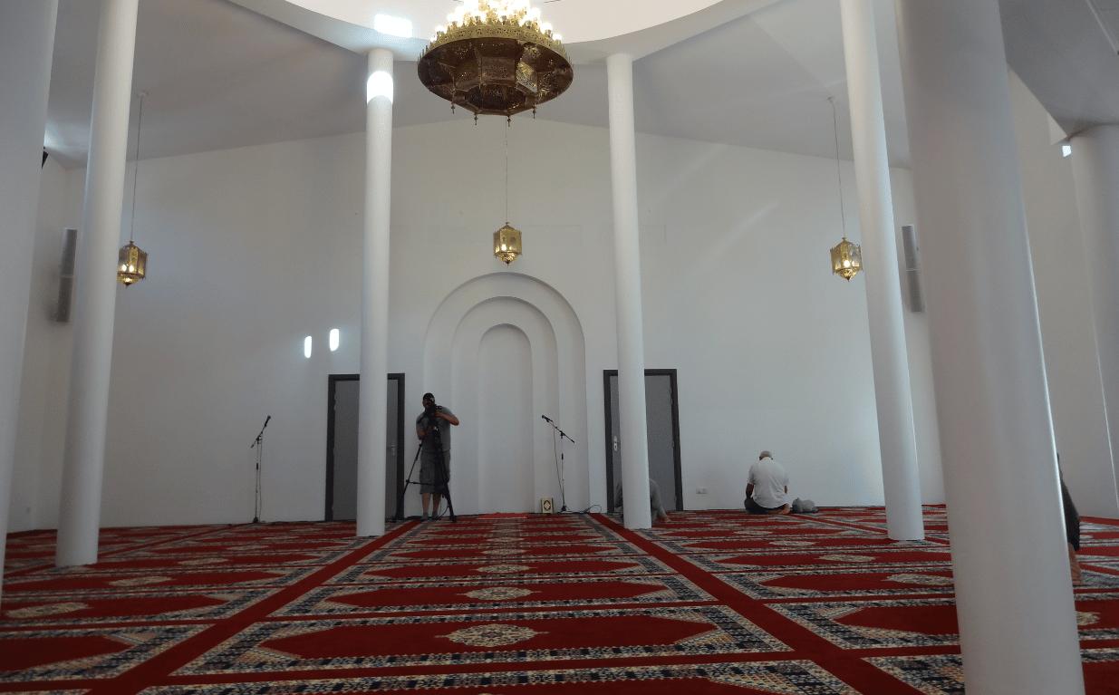 Salle de prière mosquée de la Robertsau