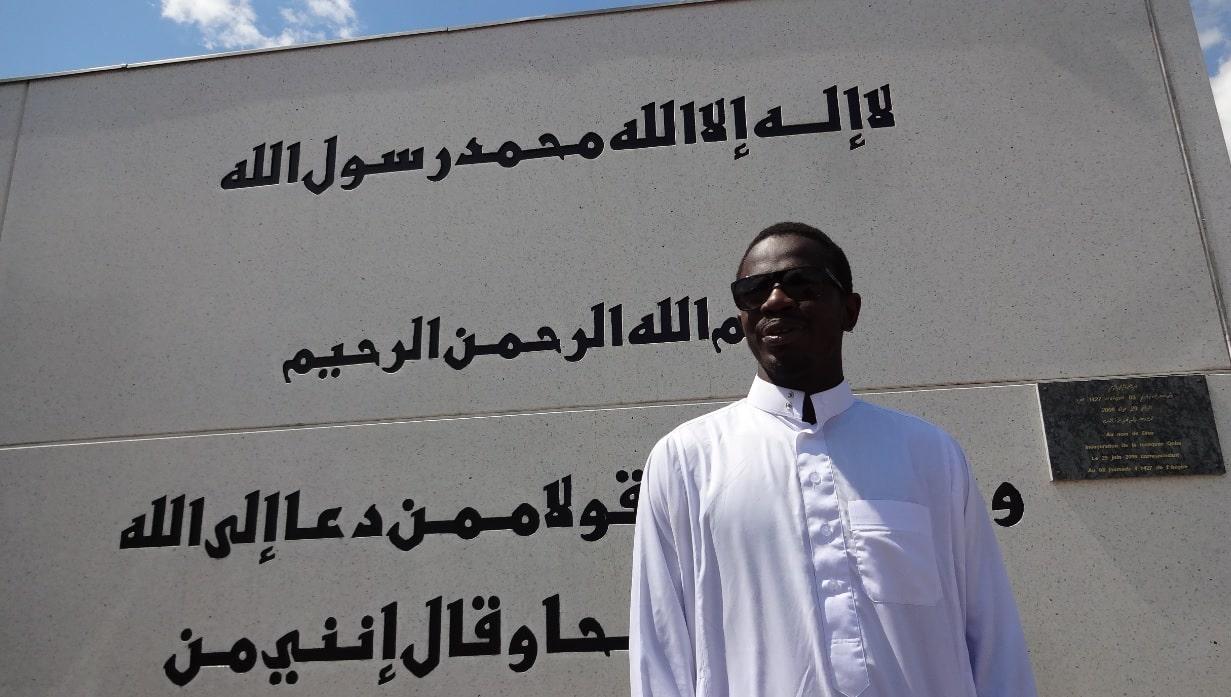 Habibou TOURE imam de la mosquée Koba de Mulhouse Ramadan