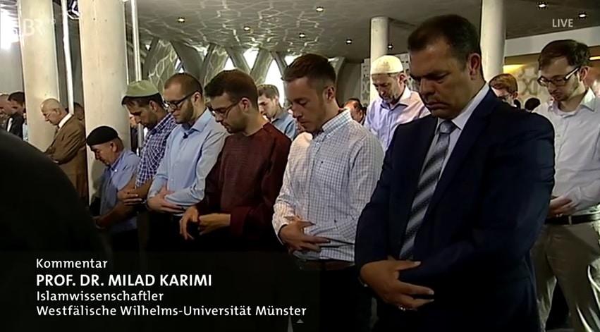 La prière de l'Aïd El Fitr diffusée en direct sur une chaîne allemande