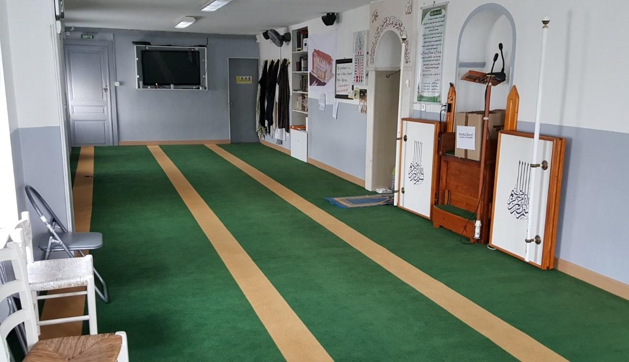 Salle de prière mosquée Madina d'Epinal