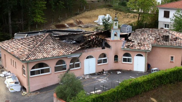 Incendie de la mosquée d'Auch