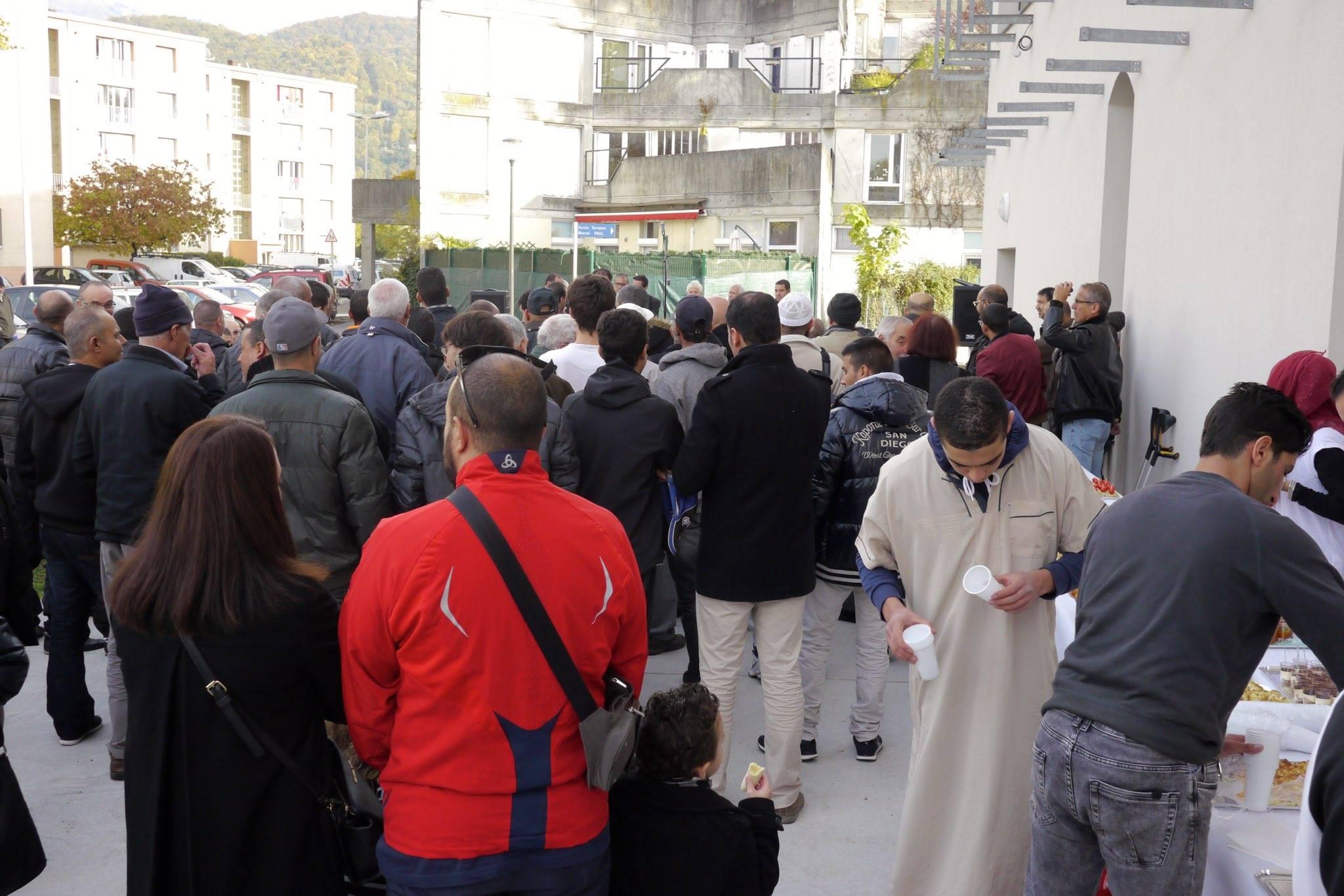 Inauguration de la mosquée Omar de Saint-Martin-d'Hères 2