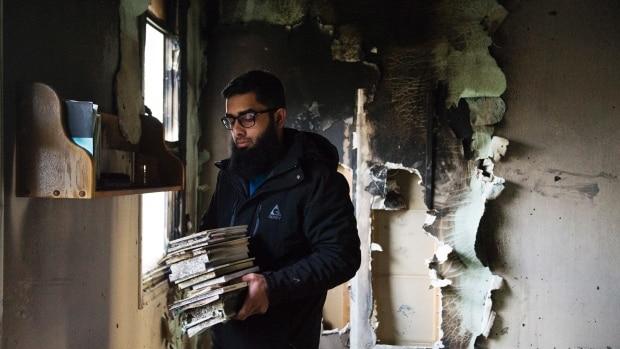 Canada  l'incroyable élan de solidarité avec une mosquée victime d'un incendie criminel