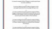 Charte des mosquées de Béziers par Robert Ménard