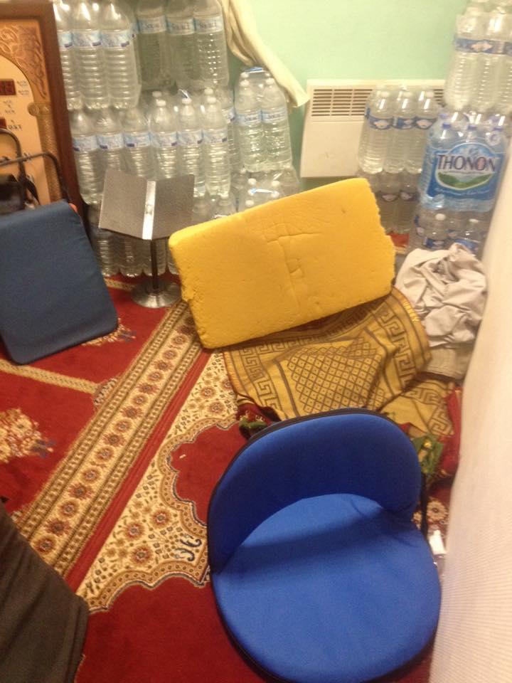 Perquisition musclée dans une mosquée d'Aubervilliers 1