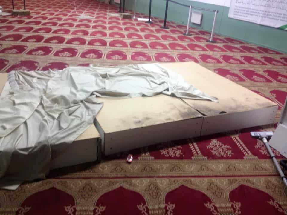 Perquisition musclée dans une mosquée d'Aubervilliers 6
