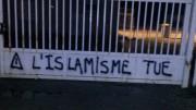 Tags islamophobes sur la mosquée de Chavanoz