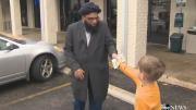 Un enfant de 7 ans donne ses économies à une mosquée vandalisée