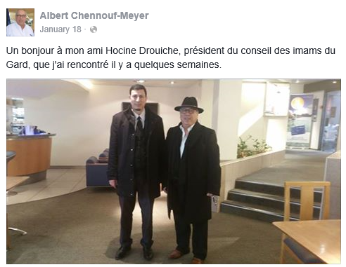 Albert-Chennouf Meyer avec Hocine Drouiche