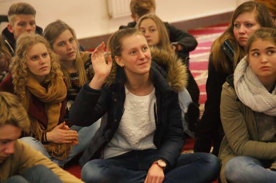 60 lycéens belges ont visité la grande mosquée de Lille 2