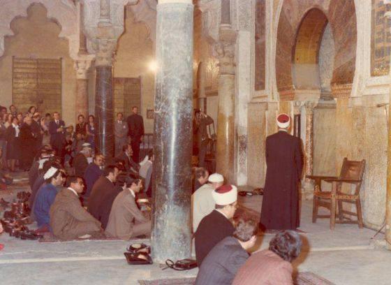Première prière collective à la grande mosquée de Cordoue depuis des siècles