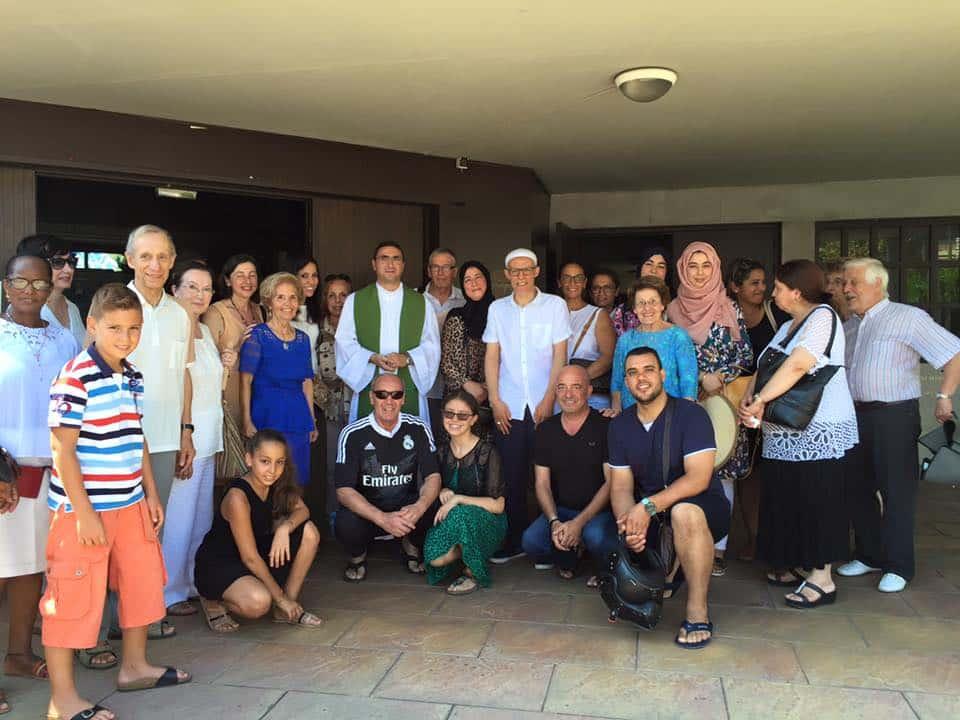 Musulmans à l'église Saint-Marc de Nice