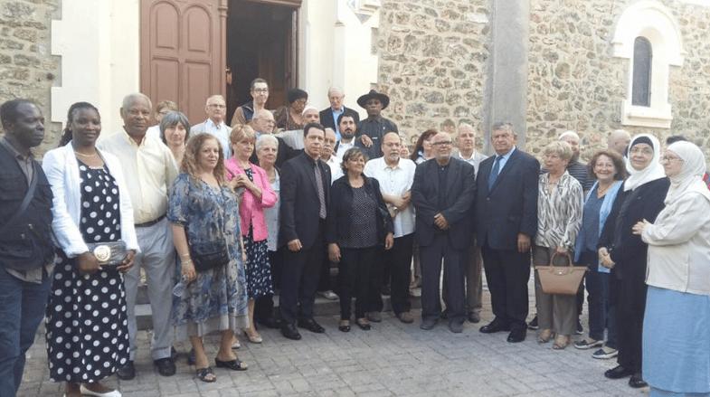 Musulmans à l'église de Vigneux-sur-Seine