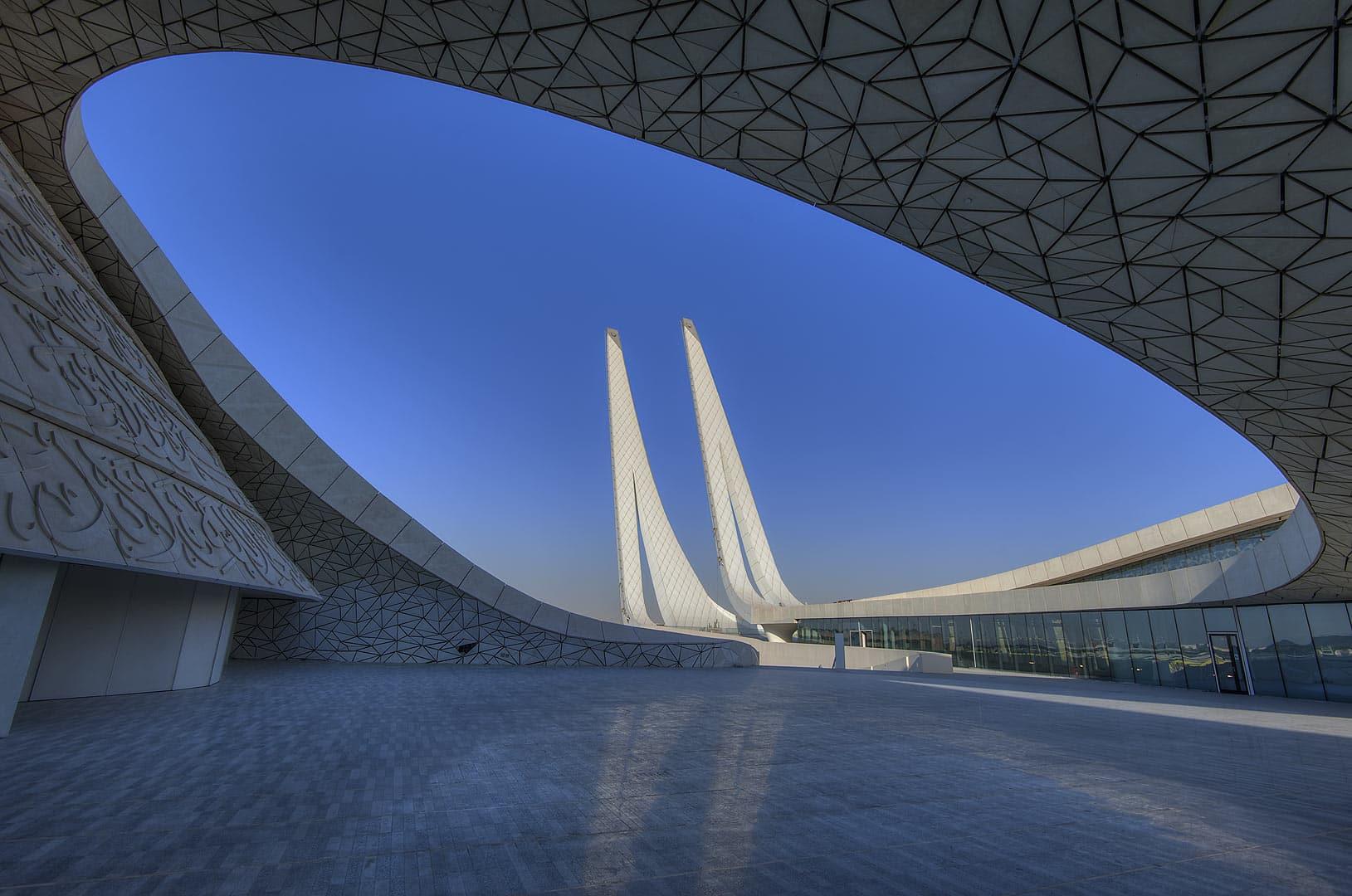 En images une mosqu e futuriste au qatar des d mes des minarets - Credit islamique en france ...