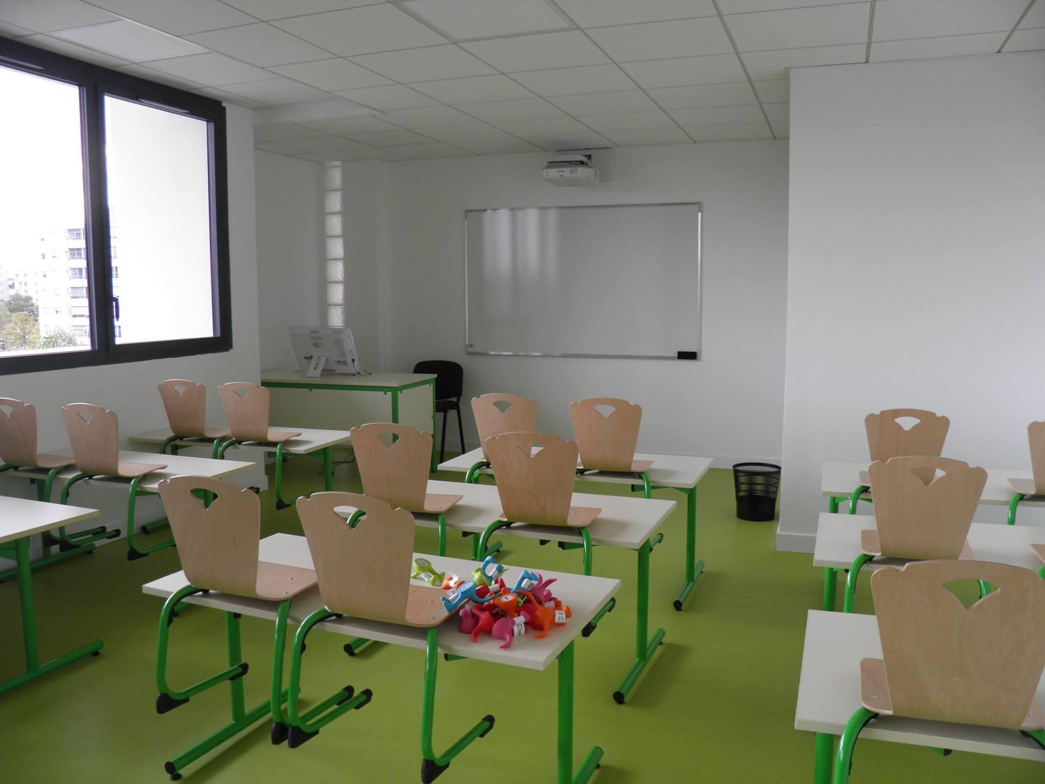 Le CID abrite une quinzaine de salles de classe