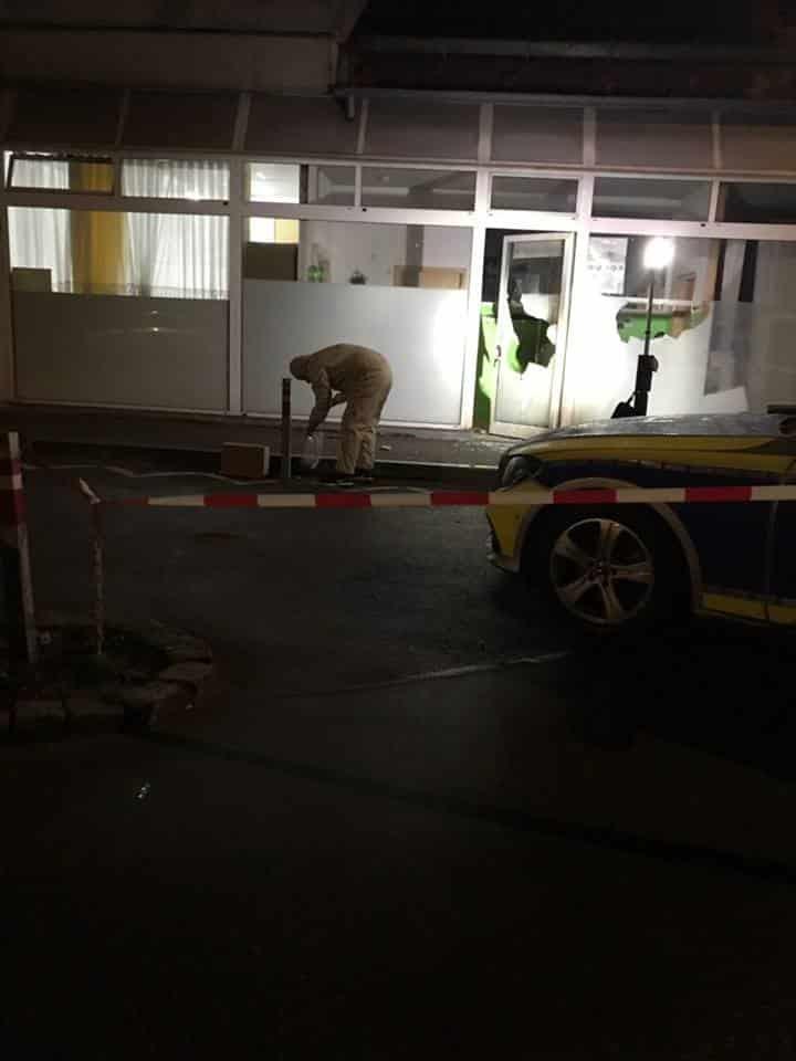 Mosquée attaquée au Cocktail Molotov Allemagne