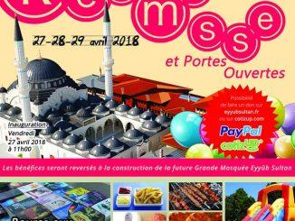 Kermesse mosquée Eyyub Sultan de Strasbourg 2018