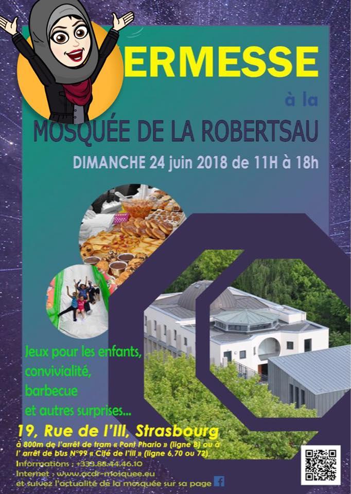 Kermesse mosquée de la Robertsau 2018