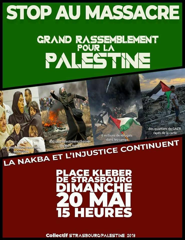 Strasbourg Palestine