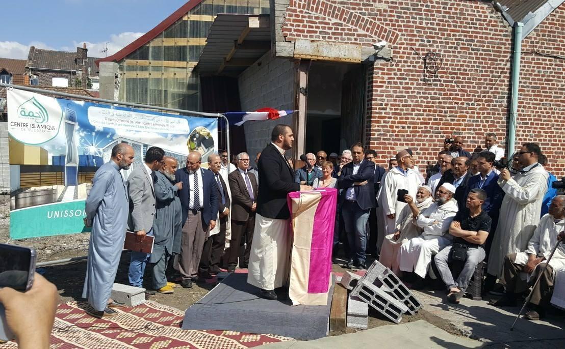 La première pierre de la mosquée Arrahma de Roubaix est posée
