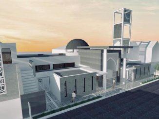 Agrandissement mosquee Dammarie les Lys