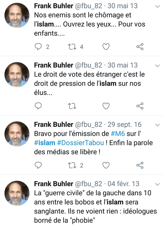 Frank Buhler islamophobe 6