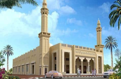 Mosquée verte de Dubaï