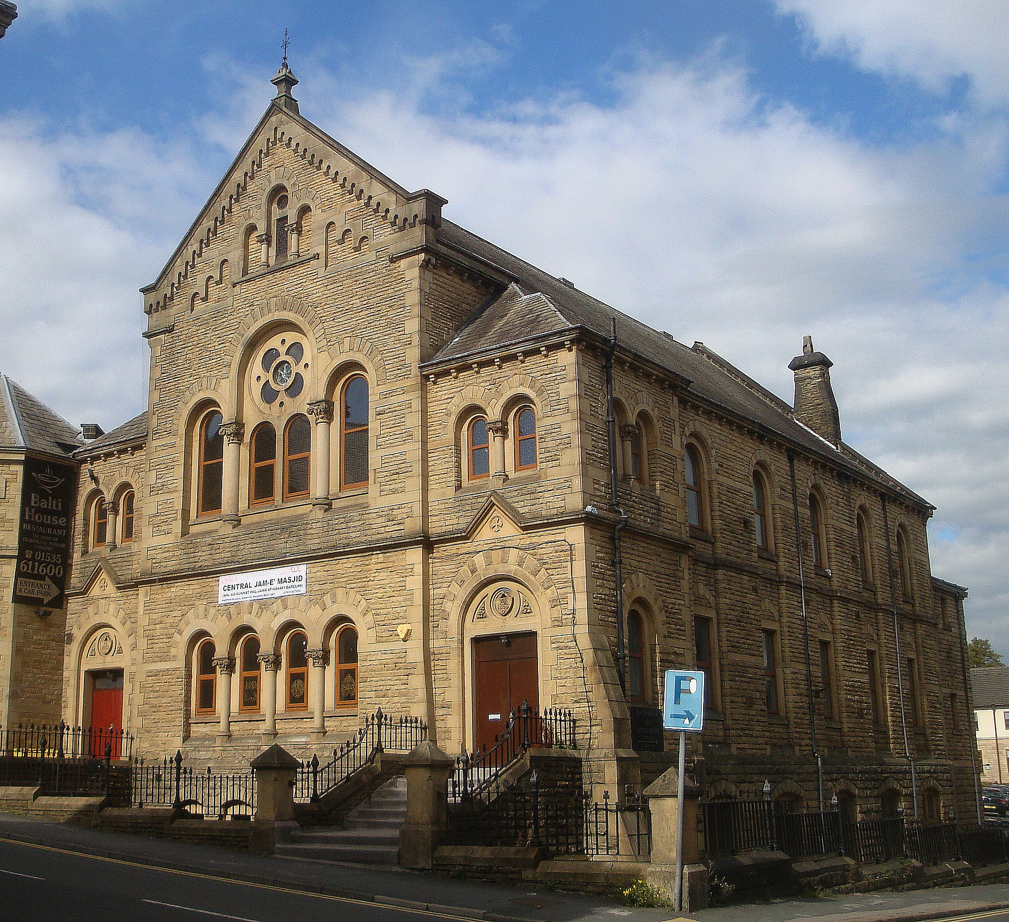Central Jamia Mosque, Albert Street, Keighley, West Yorkshire