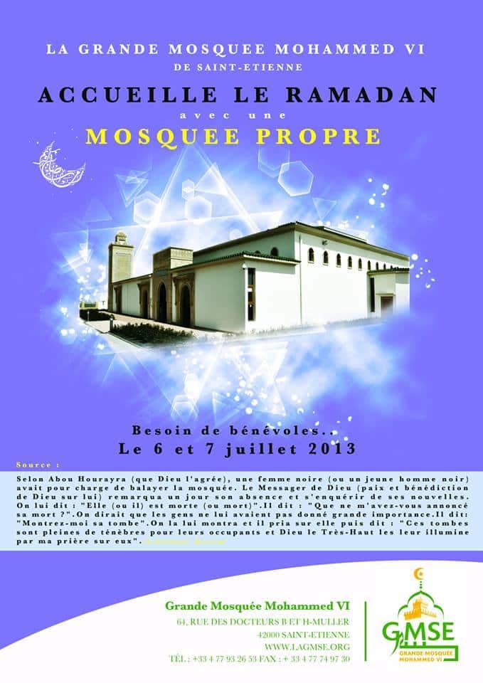 Mosquée Propre Saint Etienne