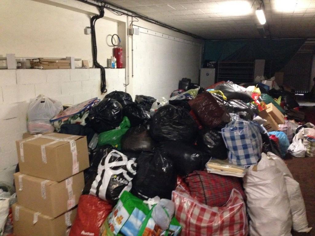 Collecte de vêtements pour la Syrie Mosquée Omar de Creil