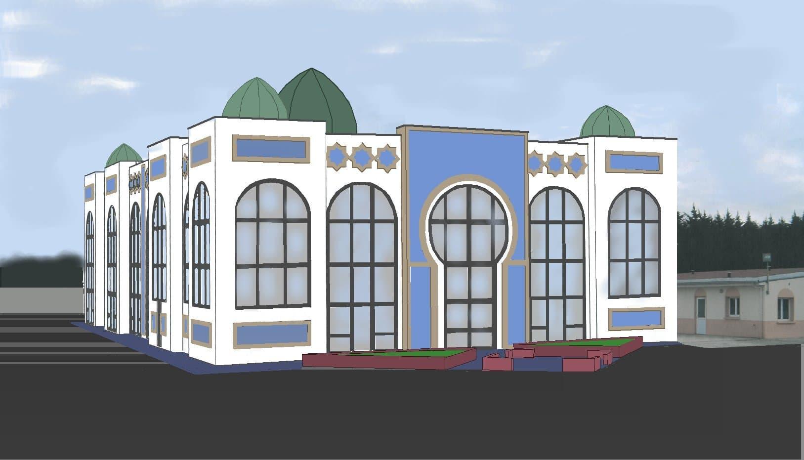 La mosquée d'Henin-beaumont