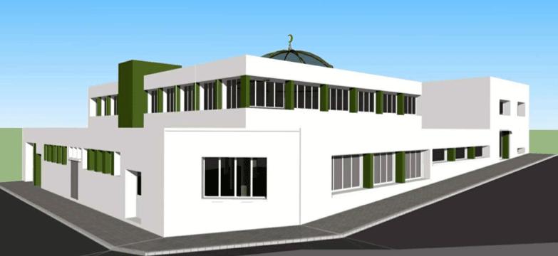 La mosquée de Brest
