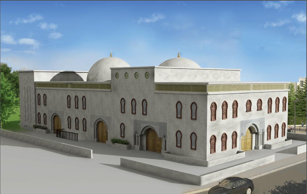 La mosquée de Carrières-sous-Poissy