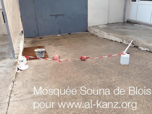 Mosquée profanée Blois