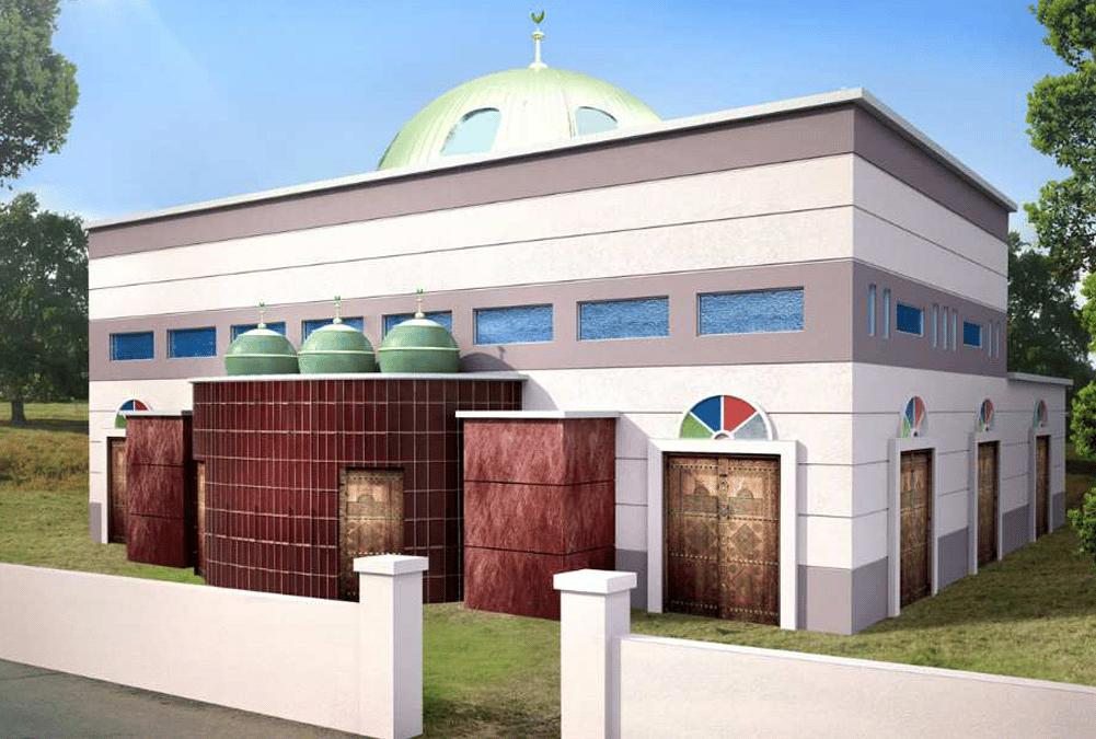 Projet de la mosquée d'Etampes Nord