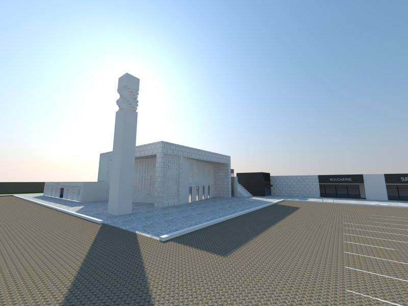 Projet de mosquée à Juvisy Athis Mons Paray