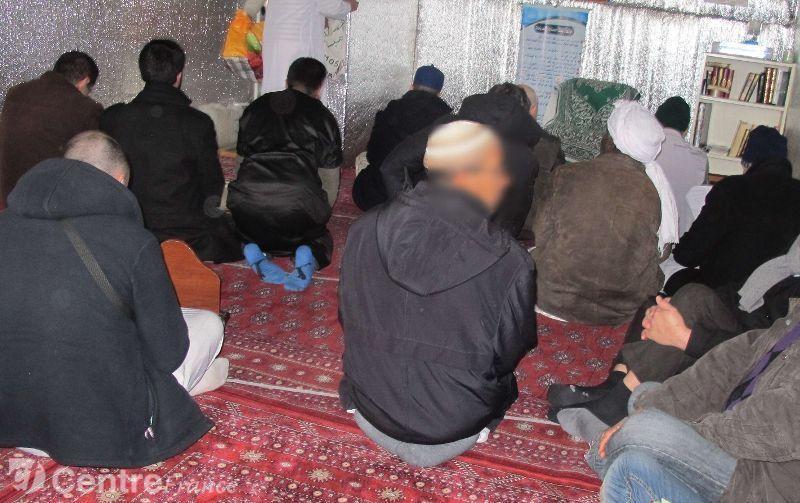 Tente mosquée à Rambouillet