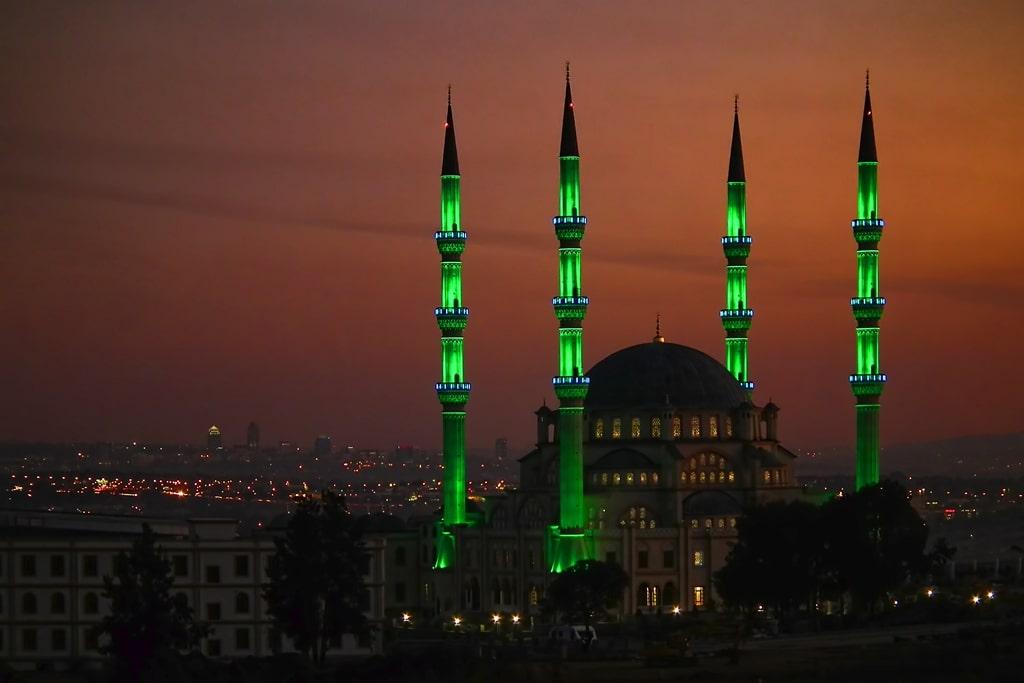 La mosquée Nizamiye de Johannesburg