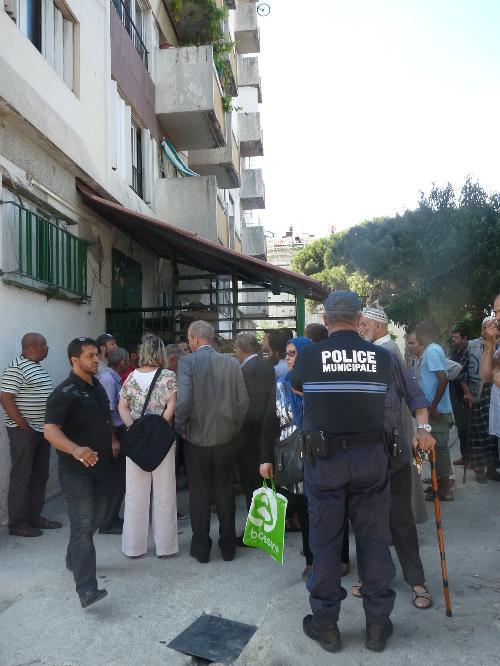 Bataille pour les clefs de la mosquée de la Route de Turin à Nice