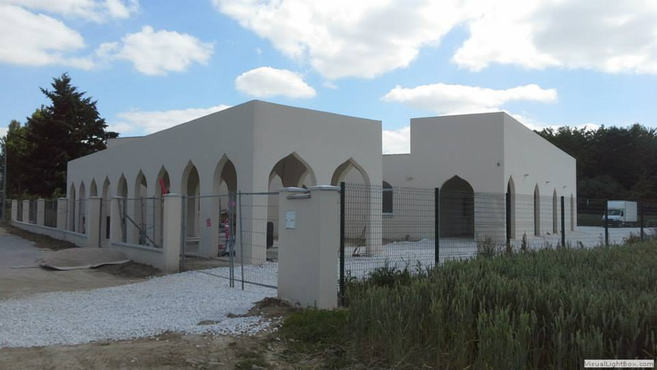 Coulommiers  la mosquée Arrahma partiellement ouverte